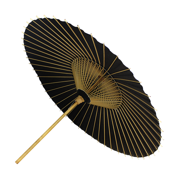 Hokusai Umbrella Black